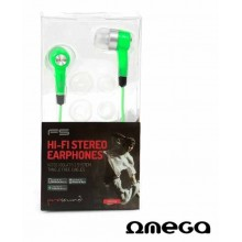Auriculares Stereo Jack 3,5mm Omega Freestyle