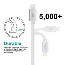 Cable de datos reversible (MicroUSB+Lightning) - Sprint Cable