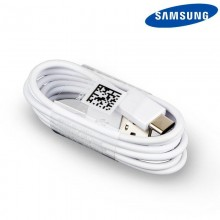 Original USB Cable Samsung Universal Type C White (Without Blister)