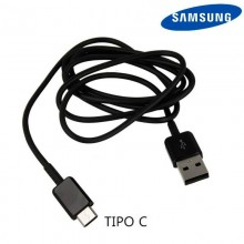Original USB Cable Samsung Universal Type C Black (Without Blister)