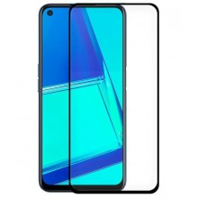 Oppo A52 / A72 / A92 / Realme 6 Pro Tempered Glass Screen Protector (FULL 3D Black)