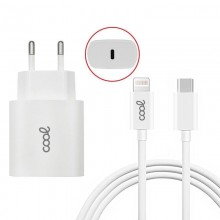 Cargador Red IPhone 20W PD + Cable Tipo C - Lightning